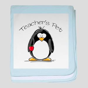 Teachers Pet Penguin baby blanket