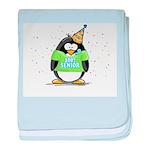 Senior 2007 Party Penguin baby blanket