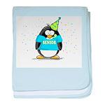 2007 Senior Party Penguin baby blanket
