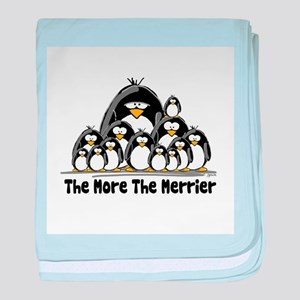 The More.. Penguin Group baby blanket