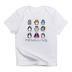 9 Penguins Infant T-Shirt