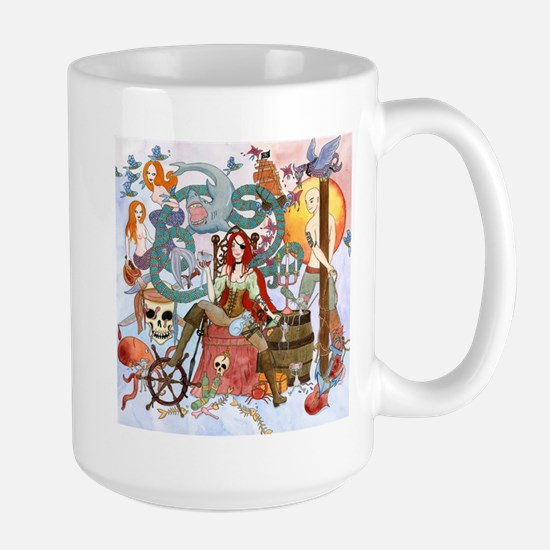 Pirate Quest Large Mug