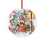 Pirate Quest Ornament (Round)