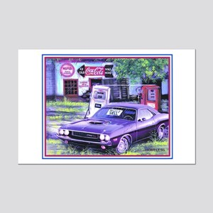 Challenger For Sale Mini Poster Print