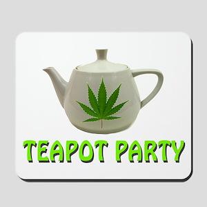 Teapot Party Mousepad