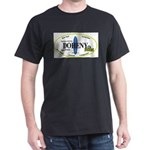 Doheny Surf Spots Black T-Shirt