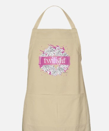 Twilight Christmas Pink by Twibaby Apron
