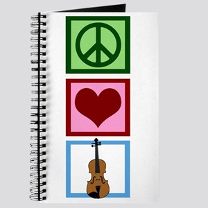 Peace Love Violin Journal