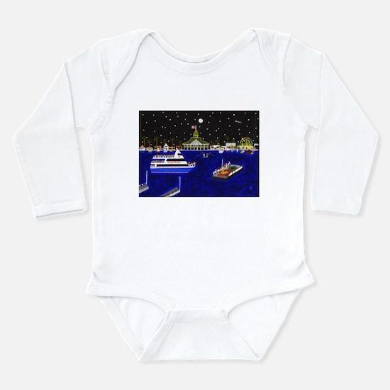 Cute Zone Long Sleeve Infant Bodysuit