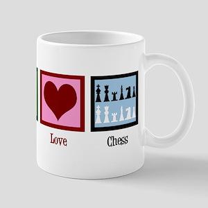 Peace Love Chess Mug
