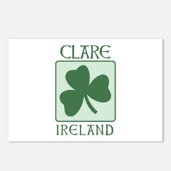 Clare, Ireland Postcards (Package of 8)