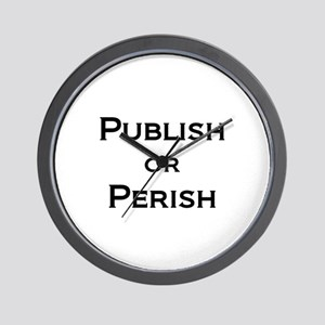 Publish or Perish Wall Clock