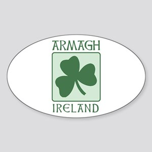 Armagh, Ireland Oval Sticker