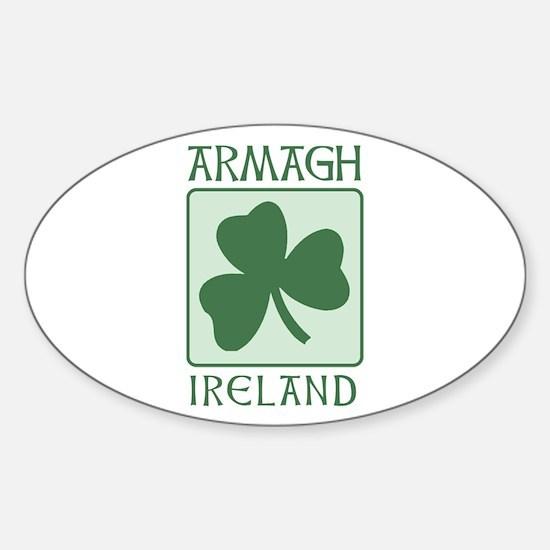 Armagh, Ireland Oval Decal