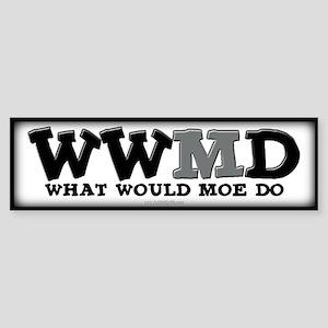 WWMD... Sticker (Bumper)