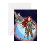 Space Girl Greeting Cards (Pk of 10)