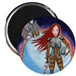 """Space Girl 2.25"""" Magnet (10 pack)"""
