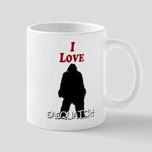 I Love Sasquatch Mug