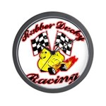 Rubber Ducky Racing Wall Clock