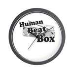Human Beat Box Wall Clock