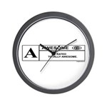 Rated Awesome Wall Clock