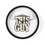 This Guy Wall Clock