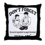 Secret Ingredient Throw Pillow