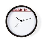 Dukakis '88 Wall Clock