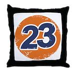 23 Logo Throw Pillow