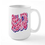 Need Love Large Mug