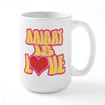 Haight Love Large Mug