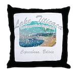 Lake Titicaca '94 Throw Pillow