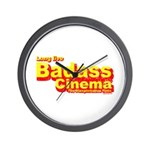 Badass Cinema Wall Clock