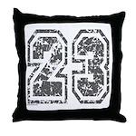 Number 23 Throw Pillow