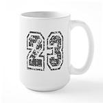 Number 23 Large Mug