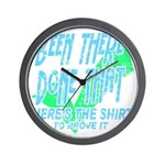 Been There Wall Clock