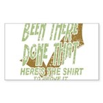 Been There Sticker (Rectangle)