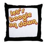 Boogie Down Throw Pillow