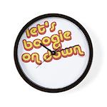 Boogie Down Wall Clock