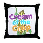 Cream of the Crop Throw Pillow