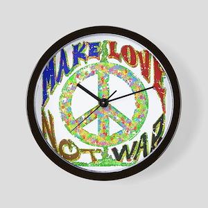Love not War Wall Clock