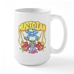 Hippie Musician Large Mug