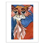 Cayenne Cat Small Poster