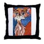 Cayenne Cat Throw Pillow