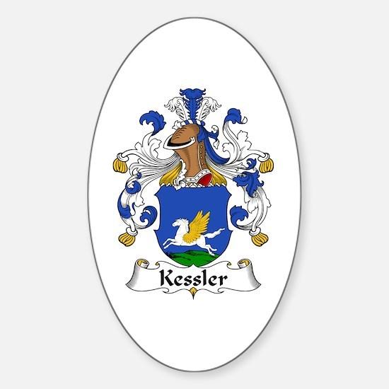 Kessler Sticker (Oval)