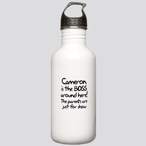 Cameron is the Boss Stainless Water Bottle 1.0L