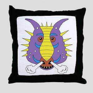 Max's Dragon Shirt Throw Pillow