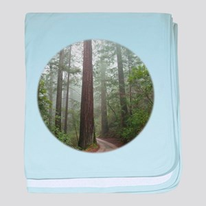 Redwood Forest baby blanket