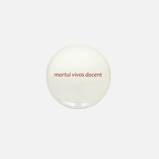 Cute Mortician Mini Button