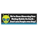Alien: Mating Habits Sticker (Bumper)